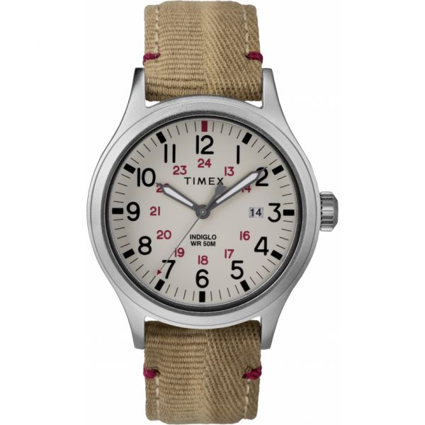 Allied 40mm Fabric Strap Watch