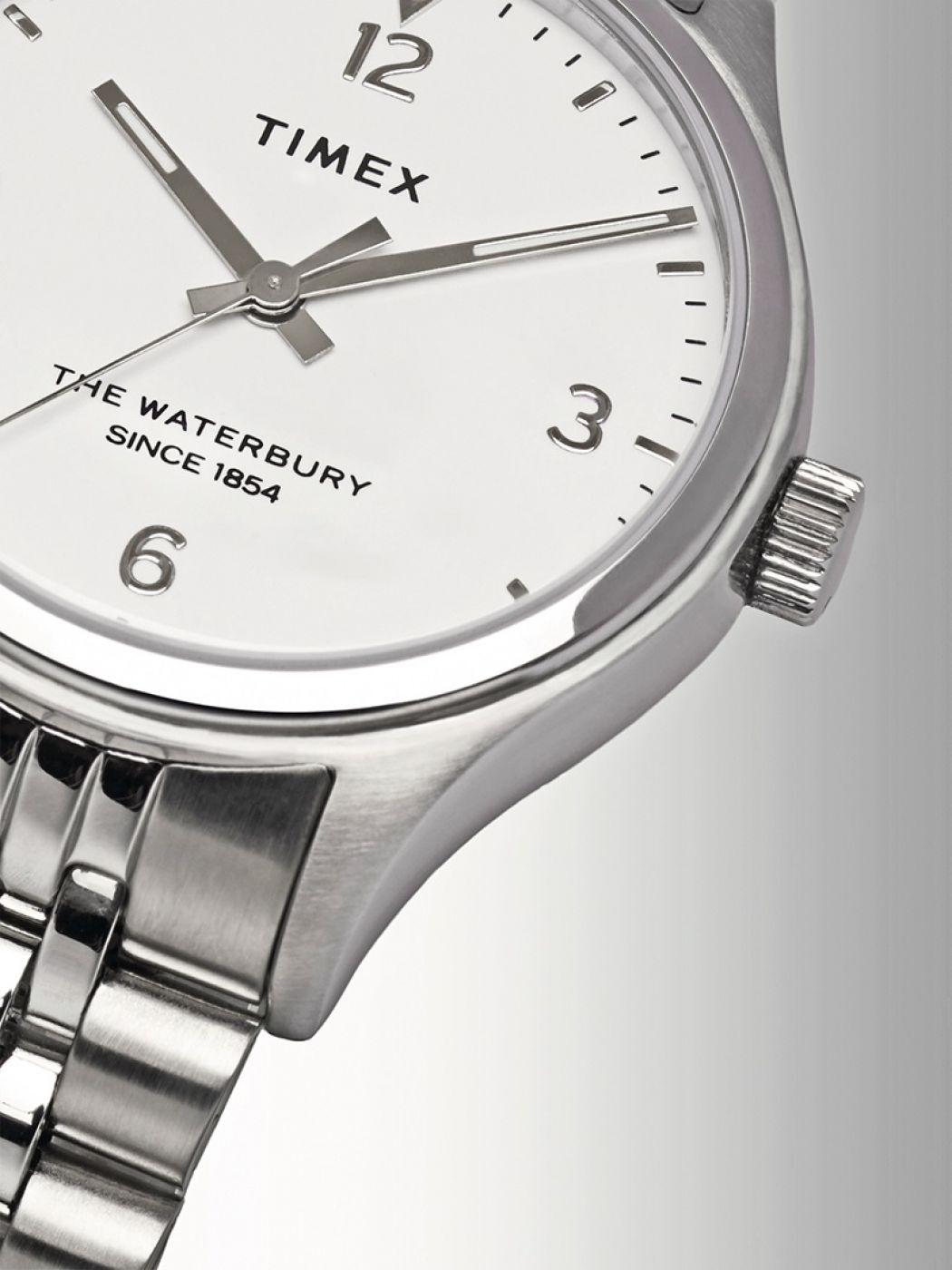 Waterbury Watch Stainless Womens Steel 34mm nm8w0N