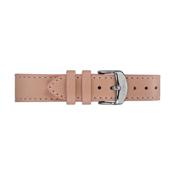 Fairfield Crystal 37mm Leather Strap Watch