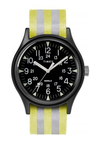 MK1 Aluminum 40mm Reflective Fabric Watch