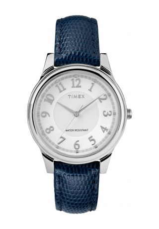 Timex Core 35mm Leather Strap Watch
