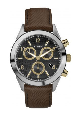 Torrington Chronograph 40mm Leather Strap Watch