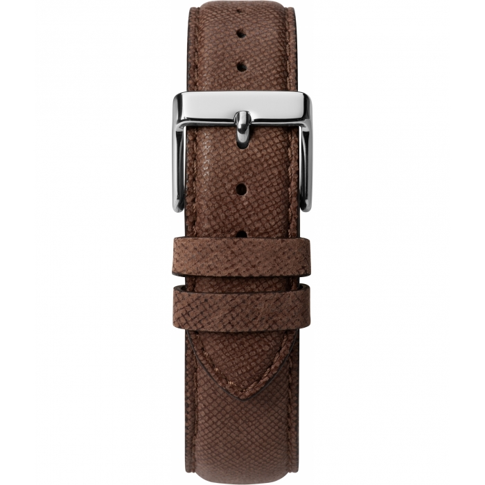Southview Multifunction 41mm Leather Strap Watch