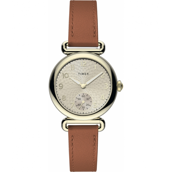 Model 23 33mm Leather Strap Watch