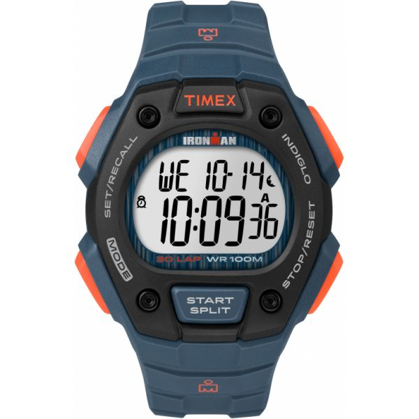 IRONMAN Classic 30 Full-Size Resin Strap Watch