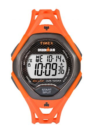 IRONMAN Sleek 30 Full-Size Resin Strap Watch