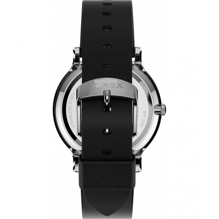 Norway 40mm Leather Strap Watch